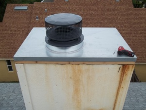 chimney cap rebuild diy