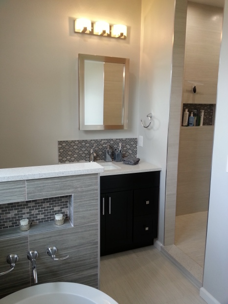 Spa-Style Bathroom Remodel - AFTER